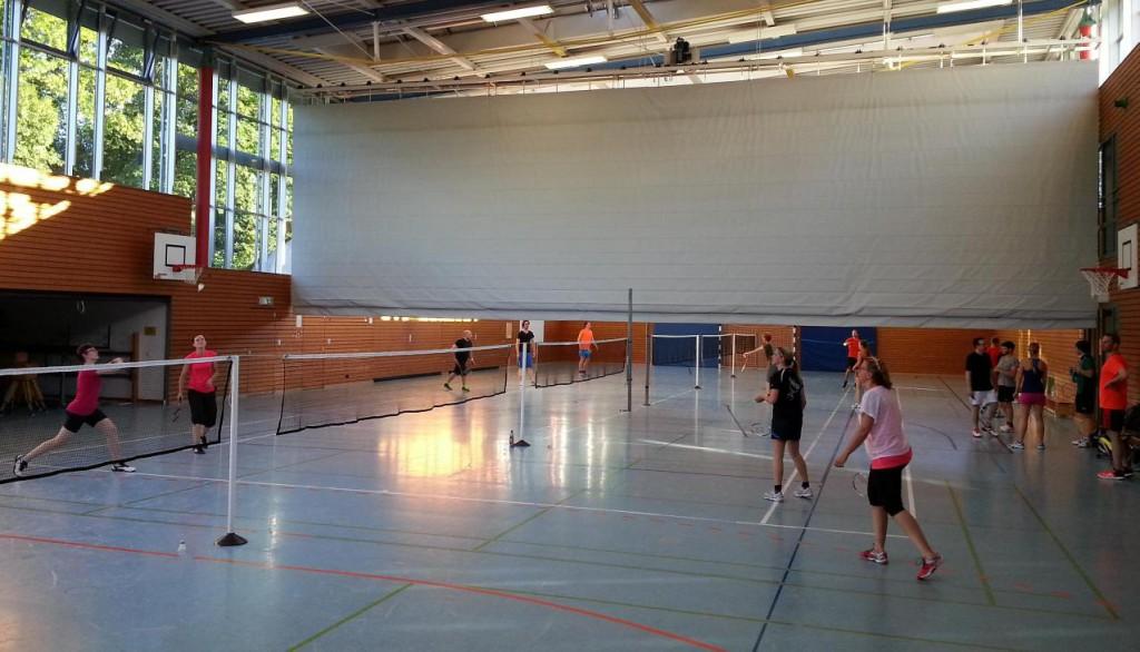 Damendoppel Swetlana Engel-Sabine Dorant vs Anika Bachmann-Mareike Fuhrmeister (Hobbyliga-Begegnung FT Fulda vs Treysa)